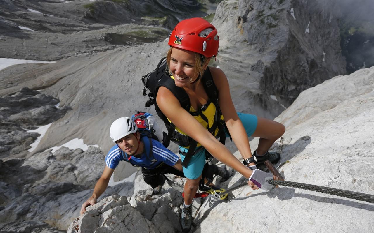 Klettersteig Ramsau : Sommerurlaub haus herma ramsau am dachstein